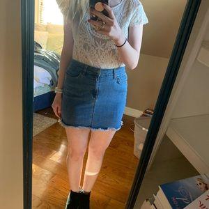 Dresses & Skirts - Jean skirt